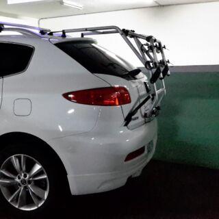 原廠汽車自行車架 圖內車輛為LUXGEN SUV7 ,有適用者請帶回。