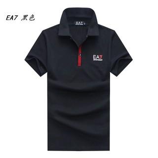 Emporio Armani 阿瑪尼EA7短袖polo衫 EA7男士POLO衫 棉質/素色/寬鬆 休閒時尚POLO衫