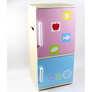 幼樂比~可愛木製冰箱 (限宅配)
