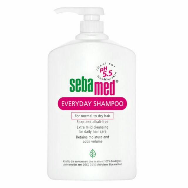 全新 德國施巴Sebamed pH5.5 溫和洗髮乳1000ml 總代理公司貨