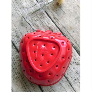 ZAKI草莓造型瀝水籃