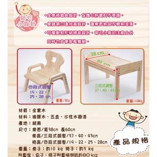 #二手# MesaSilla寶寶自主桌椅組-原款