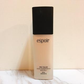 eSpoir粉底液