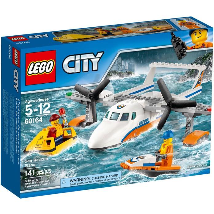 [必買站] 全新 樂高 LEGO 60164 城市系列 海岸巡防救援飛機