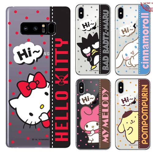 韓國 酷企鵝 美樂蒂 布丁狗 透明軟殼 手機殼│iPhone 5/5S SE 6/6S 7 8 Plus X│z8139