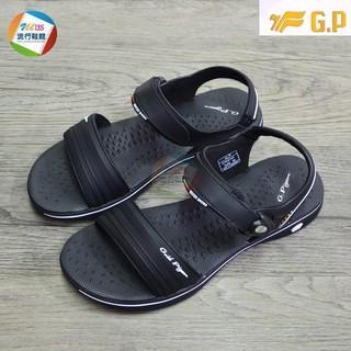 女鞋/運動涼鞋 G.P 阿亮代言~女款時尚休閒涼鞋G8697W-黑色-【Z.U SHOES】