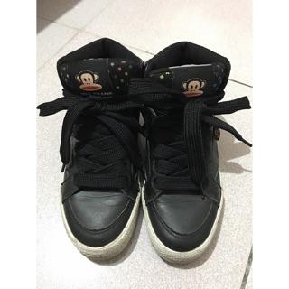 《2手-5成新》PAUL FRANK 黑色球鞋 運動鞋
