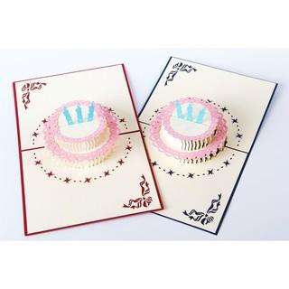 生日蠟燭立體卡片 生日卡片 生日賀卡 創意卡片 立體卡片 紙雕立體卡片