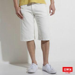 EDWIN短褲白色