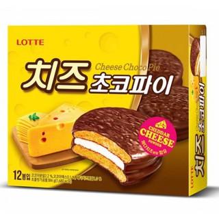 預購【韓國 LOTTE 樂天 巧克力起司派】