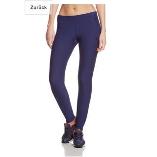 Adidas Ultimate Fit Tights S 愛迪達 緊身褲 健身 瑜伽 運動 深藍色