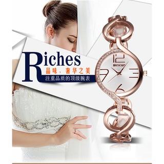手錶復古鏤空錶帶簡約大數字刻度女款手錶