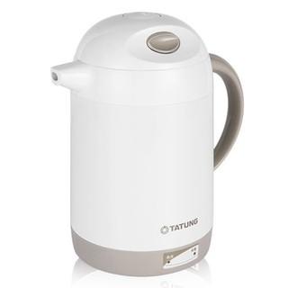 【TATUNG 大同】1.4公升雙層防燙電茶壺/快煮壼 TEK-1414A