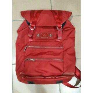 二手-RITE紅色後背包旅行背包