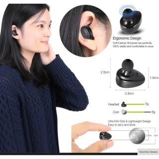 藍牙耳機TWS耳塞真正的無線耳機立體聲