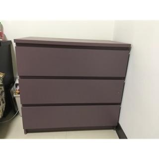 Ikea三層收納衣櫃