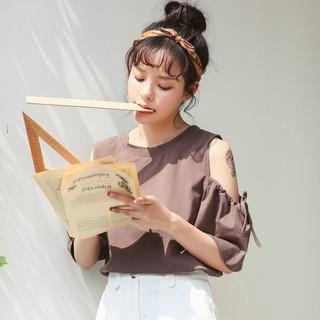 21823 實拍夏裝 學院風甜美淑女露
