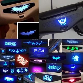 PS4手柄貼紙 PS4 Slim手柄發光條 PS4 Pro燈條  PS4手柄LED燈貼