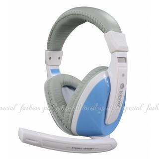 【HA501】全罩式重低音耳機麥克風EM-3632伸縮式頭帶耳機 線控音量調整