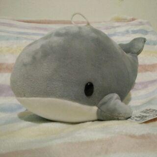 鯨魚 娃娃 絨毛 玩偶