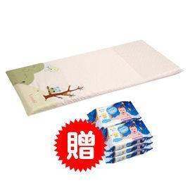 Combi 康貝 貓頭鷹床墊-粉色(L)【送Combi海洋深層水濕紙巾20抽3入x2串】【佳兒園婦幼館】