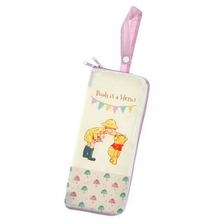 預購~日本迪士尼 小熊維尼 維尼小熊 收納袋 雨傘收納袋 寶特瓶收納袋 抹布