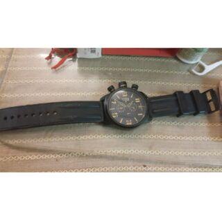 elegant sis錶 大錶徑 膠帶錶 運動錶