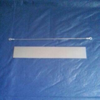 鐵殼20公分手壓封口機配件  扁線和布一組