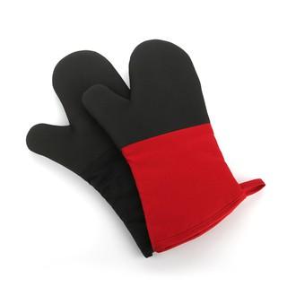 【隔熱王】專業戶必選 高端微波爐手套紅黑烘焙烤箱隔熱手套專用