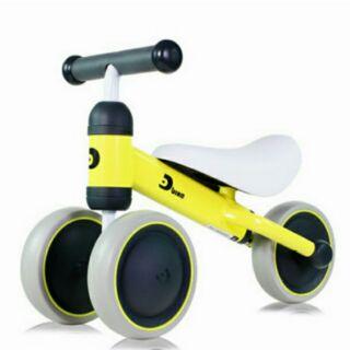 日本ides寶寶滑步平衡車-黃色 D-bike mini 助步車 學步車 滑步車