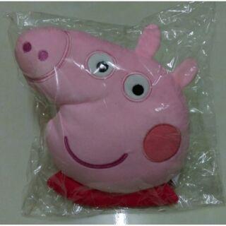 全新 佩佩豬 Peppa pig 粉紅豬小妹 午安枕 抱枕 靠枕 午睡枕 玩偶 絨毛枕