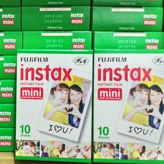 宅配 單盒10 入裝FUJIFILM Instax mini 富士拍立得底片空白底片超