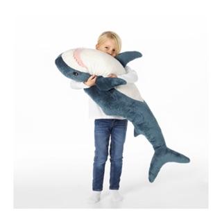 ✅現貨 限量熱銷 new Ikea鯊魚 ikea娃娃代購 豬狗熊貓安撫娃娃安撫抱枕枕頭
