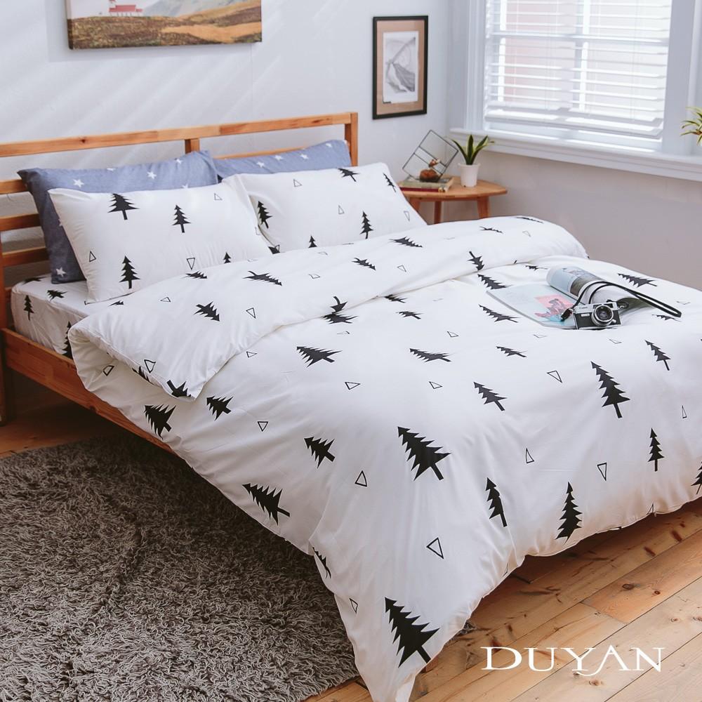 【文青簡約設計】天絲絨 床包被套/鋪棉兩用被組-極簡生活 台灣製
