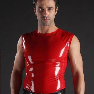 latex  SM 純天然乳膠  乳膠塑身上衣 大碼 圓領 無袖  cd變裝 SM