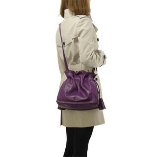 牌價降7000出清Loewe flamenco 紫色napa小羊皮包