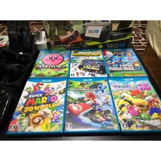 Nintendo Wii U 32G 稀有日規 黑主機