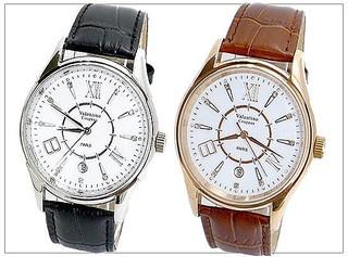 Valentino Coupeau 范倫鐵諾 總裁品味磄瓷面盤背面鏤空自動機械錶