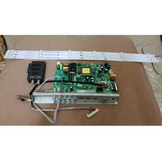 台灣三洋 SANLUX SMT-32MV7 液晶電視 /拆機零件 /LED背光條/主機板/視訊盒