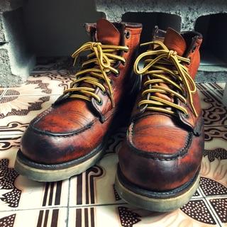 透明圓頭雙色鞋帶 適合 Red Wing Timberland Danner 工作靴 登山靴 休閒靴