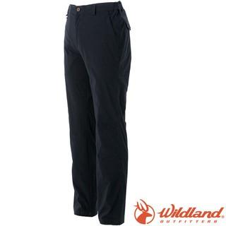 Wildland 荒野 0A51320-54黑色 男 彈性抗UV直筒長褲
