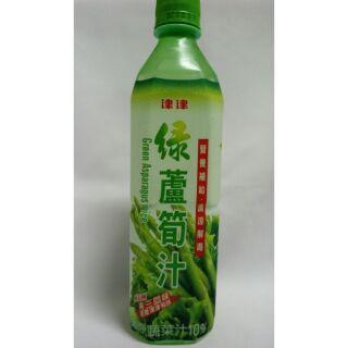 津津 綠蘆筍汁 600ml 蘆筍汁 蘆筍 久津   寶特瓶 保特瓶 保特 寶特