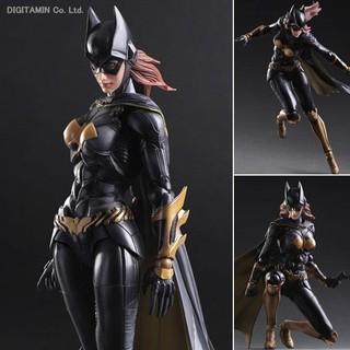 卡通動漫遊戲影視周邊PlayArts改PA改DC正義聯盟蝙蝠俠阿卡姆騎士蝙蝠女人偶玩具手辦公仔模型擺件