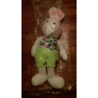 砂糖兔迷彩風娃娃/法國兔/兔子/玩偶/布偶