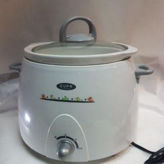 eupa tsk-8901 燉鍋 電燉鍋 陶瓷燉鍋