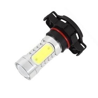 ~ ~ 汽车前雾灯H16 7 5W COB 大功率LED 防雾灯機車汽車前照燈高亮燈泡