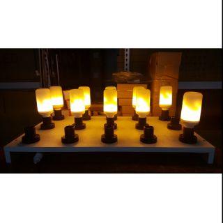 LED火燄燈 造型 景觀燈 LED3段式 LED火焰效果燈泡  E27頭
