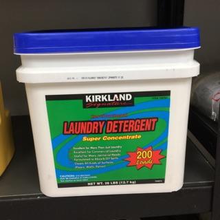 Kirkland超濃縮洗衣粉12.7kg