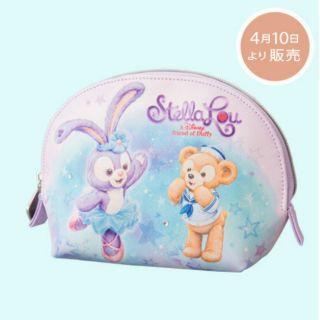 預購品❤ 東京海洋迪士尼 達菲 新朋友 史黛拉兔 化妝包 鉛筆盒