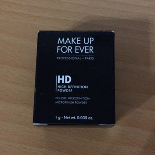 MAKE UP FOR EVER HD微晶蜜粉